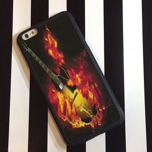 Accessories - iPhone 6 Plus Flaming Guitar Case